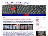 Link to Vietnam Memorial in Florida Keys website
